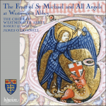 The Feast of St. Michael and All Angels at Wesminster Abbey CD