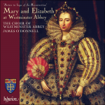Mary and Elizabeth at Westminster Abbey CD