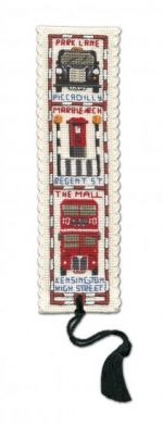 Streets of London Bookmark Cross Stitch Kit