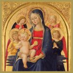 Madonna and Child with Angels Christmas Card Pack