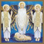 Angel Adoration Christmas Card Pack of 5