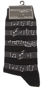 Musical Manuscript Socks