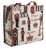 London Design Tapestry Shopper Bag