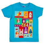 Westminster Abbey Kings & Queens Children's T-shirt Blue