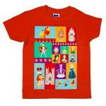 Westminster Abbey Kings & Queens Children's T-shirt Red