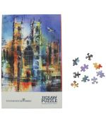 Collage Abbey Jigsaw Puzzle