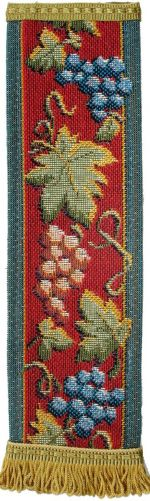 Grape Vine Tapestry Bookmark