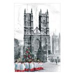 Westminster Abbey Choir Boys Personalised Christmas Cards
