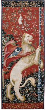 Cluny Lion Wall Hanging Tapestry