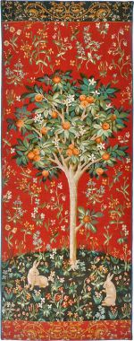Orange Tree Tapestry
