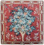 Cluny Orange Tree Small Tapestry Plaque