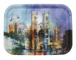 Westminster Abbey Collage Wooden Tray