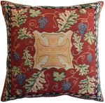 Cross and Vine Large Tapestry Cushion Cover