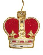 Westminster Abbey Crown Decoration