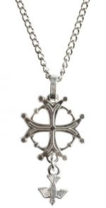 Dove Cross Necklace