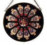 Durham Rose Window Apostles Roundlette