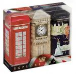 Explore London Three Tea Tin Gift Set