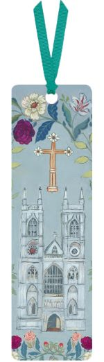 Rah Rivers Floral Abbey Bookmark