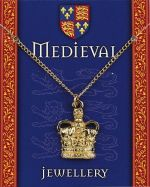 Heraldic Crown Gilt Necklace