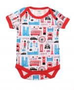 Westminster Abbey London Icons Baby Grow