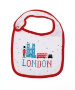 Westminster Abbey London Icons Baby Bib