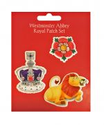 Westminster Abbey Kings & Queens Royal Patch Set