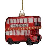 London Bus Christmas Decoration