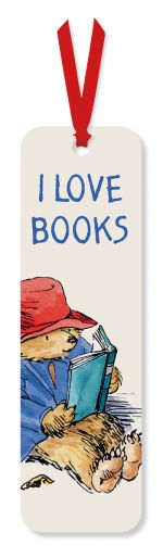 Paddington Bear 'I Love Books' Bookmark