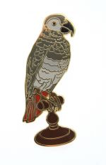 Parrot Pin Badge