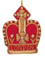 London Red Crown Decoration