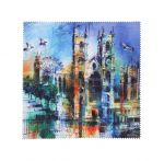 Westminster Abbey Collage Lens Cloth