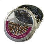 Rose Window  Jigsaw in Tin