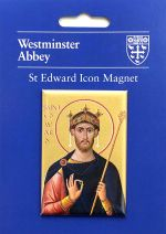 St Edward the Confessor Icon Magnet
