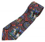 Stained Glass Window Silk Tie