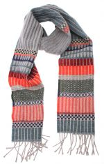 Wool Tapestry-Inspired Scarf