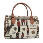 London Design Tapestry Travel Bag