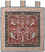 Tree of Life with Birds Tapestry