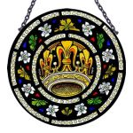 Tyntesfield Crown & Roses Roundel