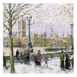 John Sutto View of Westminster Christmas Card Pack