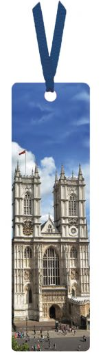 Westminster Abbey West Towers Bookmark