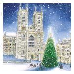 Christmas Tree at Westminster Abbey Christmas Card Box of 8