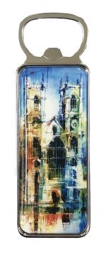 Westminster Abbey Collage Bottle Opener