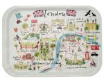 Westminster Abbey London Map Tray