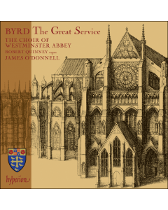 William Byrd The Great Service CD
