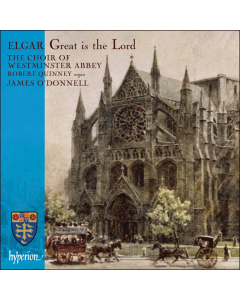 Elgar: Great is the Lord CD