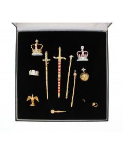 Twelve Piece Coronation Miniature Collection
