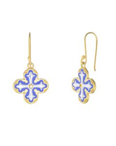 Lantern Cross Earrings