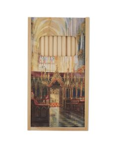 The Quire Looking West by Alexander Creswell Wooden Pencil Set