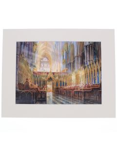 The Quire Looking West by Alexander Creswell Mounted Digital Print
