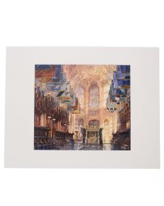 The Henry VII Chapel by Alexander Creswell Mounted Digital Print